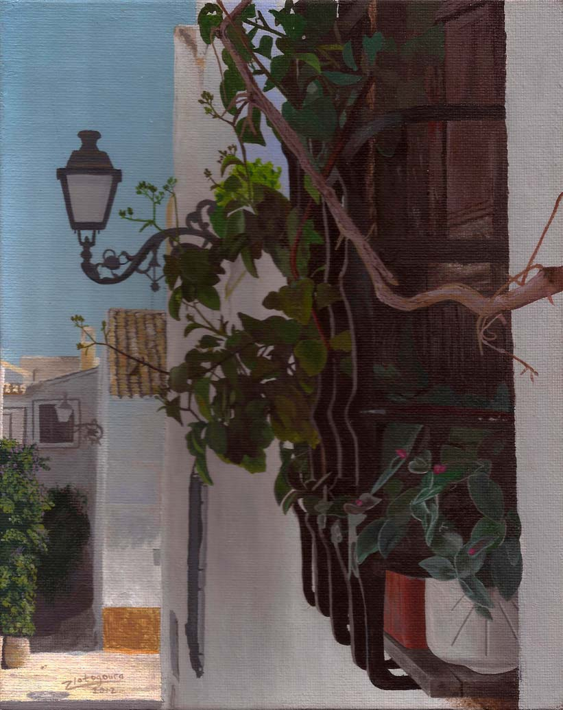 Spanish Window Sill