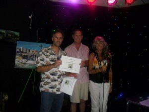 1st prize certificate