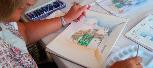Ronen Zlotogoura art classes